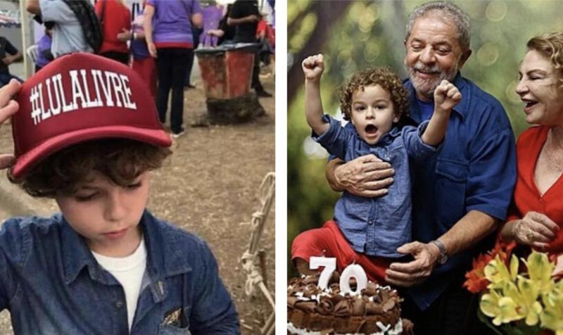 Justiça autoriza Lula a velar o neto de 7 anos em São Paulo; Eduardo Bolsonaro ofende ex-presidente em rede social