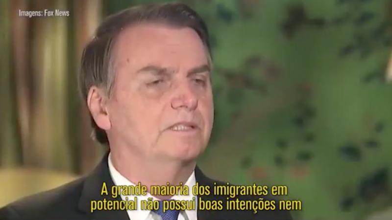 O dia em que Bolsonaro foi xenófobo contra seu próprio povo