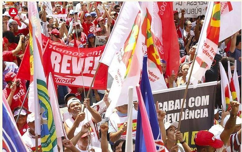 Contra a reforma da previdência, atos hoje pelo País; um 'esquenta' para a greve geral; veja os locais