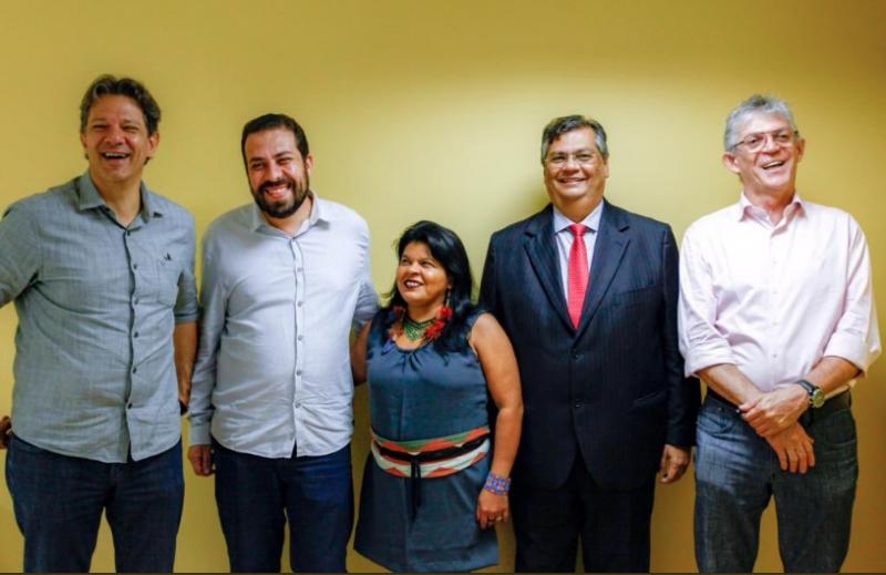 Haddad, Dino, Boulos, Sonia e Coutinho: Por democracia, Lula Livre e contra reforma da Previdência; leia