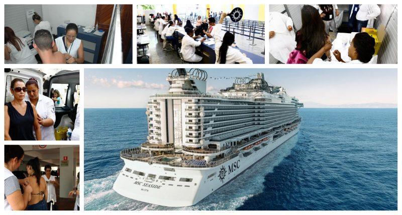 Sarampo a bordo pode se disseminar: MSC Seaview mantém viagens, apesar de casos confirmados; vigilância estadual e de Santos são contra, Anvisa libera