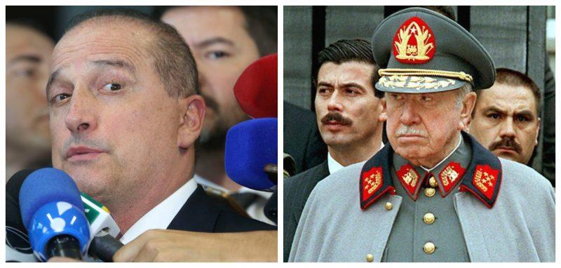 Marcelo Zero: Banho de sangue para crescer só 1,6%, como no Chile de Pinochet, seu Onyx?!