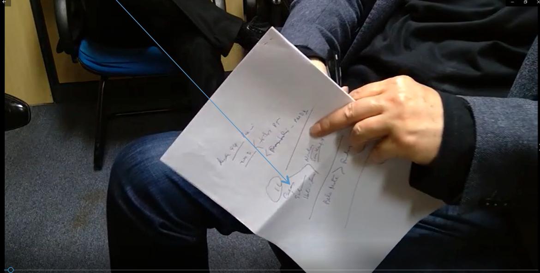 MPF pede para Palocci esconder da câmera anotações que levou a depoimento; veja vídeo