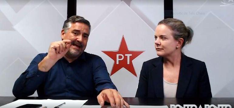 Gleisi e Pimenta, os 60 dias de Bolsonaro: Escândalos, milícias, laranjas e maldades; veja vídeo