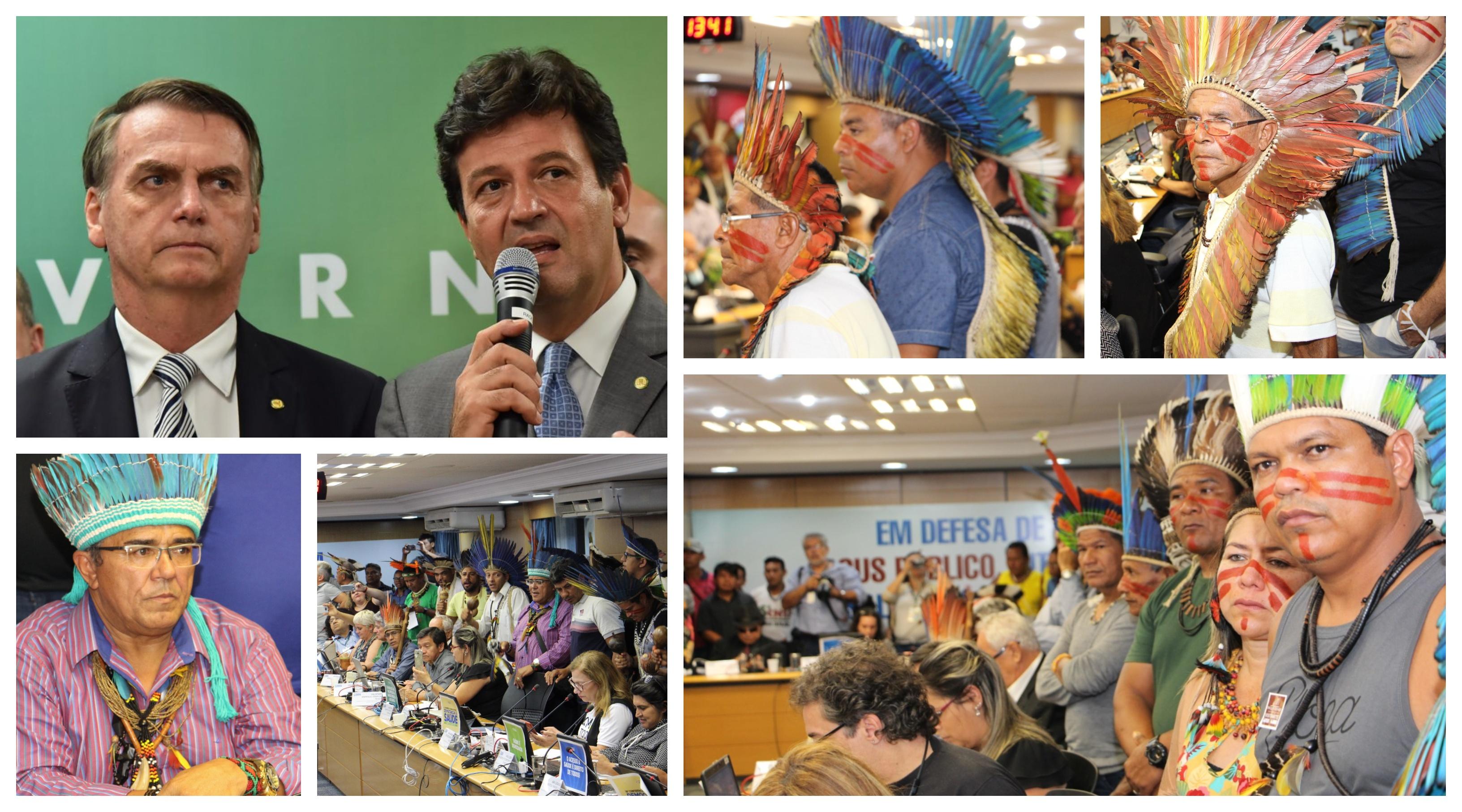 Cimi denuncia abandono da saúde indígena: Bolsonaro e Mandetta são responsáveis diretos por cada morte