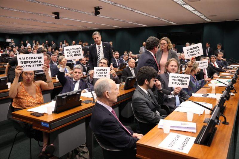 Oposição unida contra a reforma da Previdência de Bolsonaro e Guedes; confira nota e  vídeo