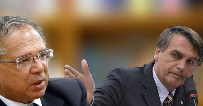 Bolsonaro e Guedes proíbem divulgação de estudos sobre a reforma da Previdência