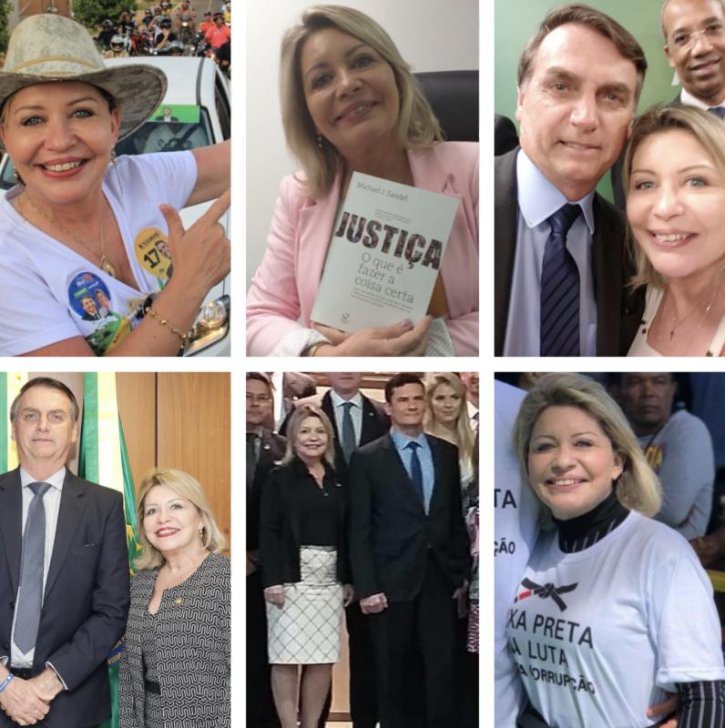 Faixa preta da luta contra a corrupção em Mato Grosso e fã de Moro é cassada por corrupção