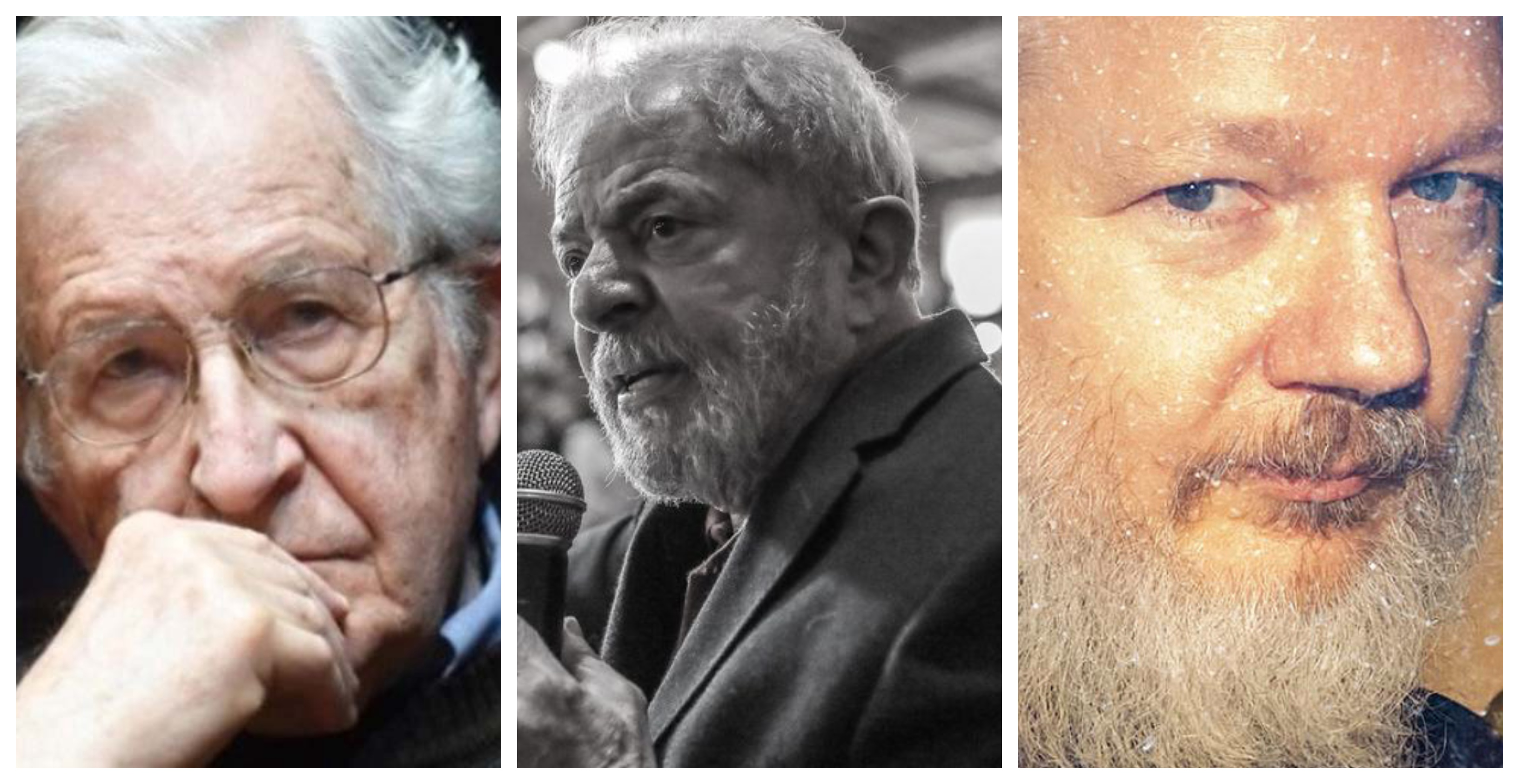 Chomsky compara prisão de Assange às de Lula e Gramsci; veja vídeo