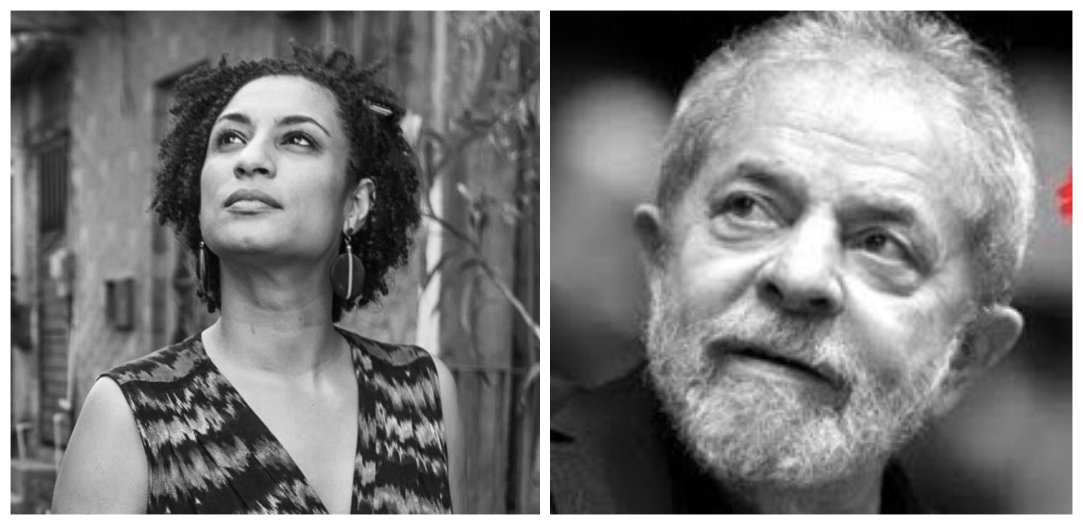 Ângela Carrato: Tiradentes se envergonharia com a truculência que destruiu duas vezes o tapete com Marielle Vive e Lula Livre