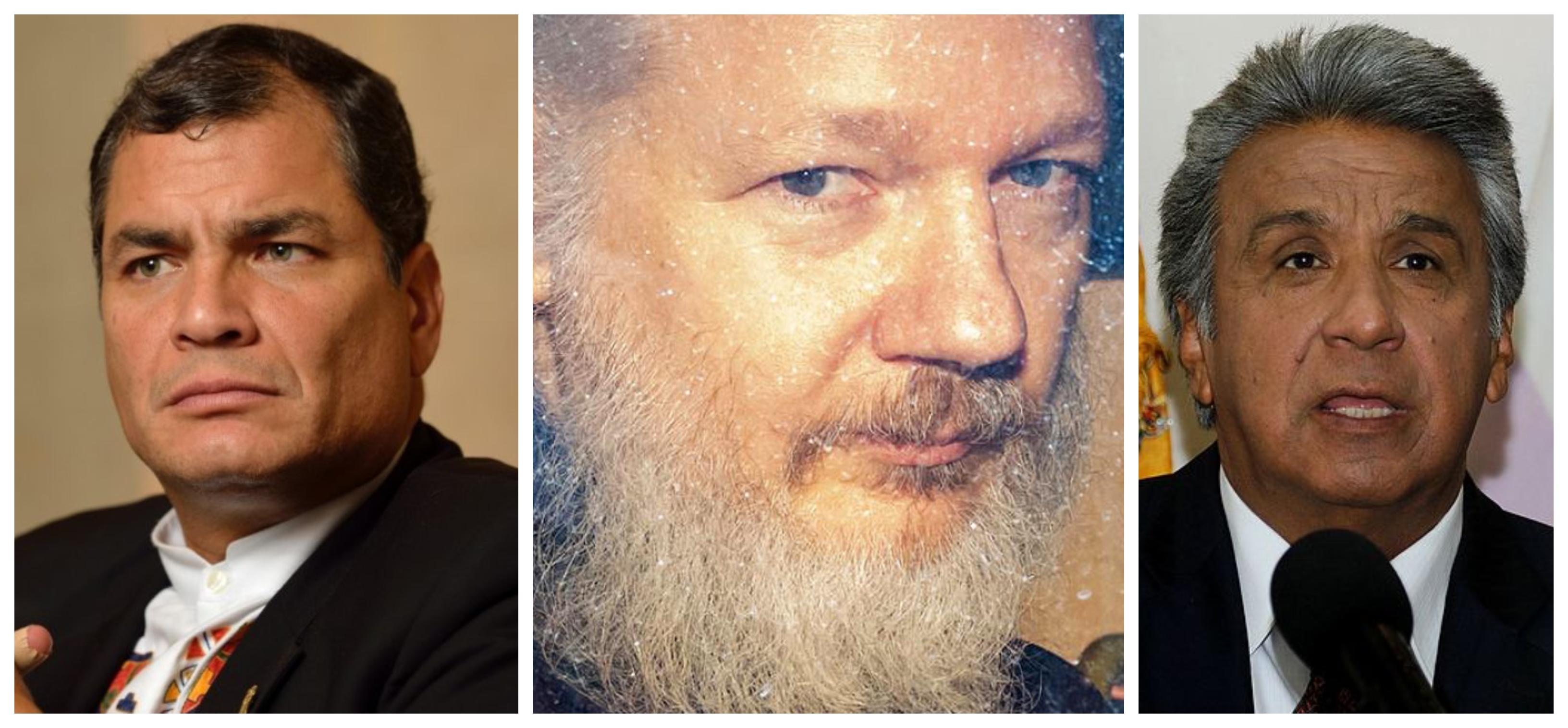Rafael Correa: Prisão de Assange é vingança de Lenin Moreno, por ele revelar corrupção envolvendo presidente e família