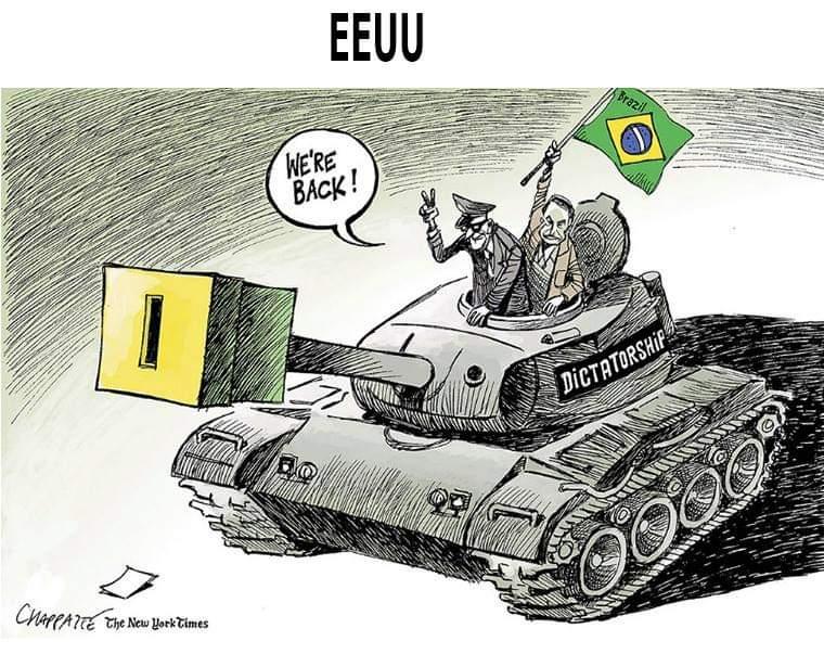 Brasil da era Bolsonaro, segundo chargistas de vários países