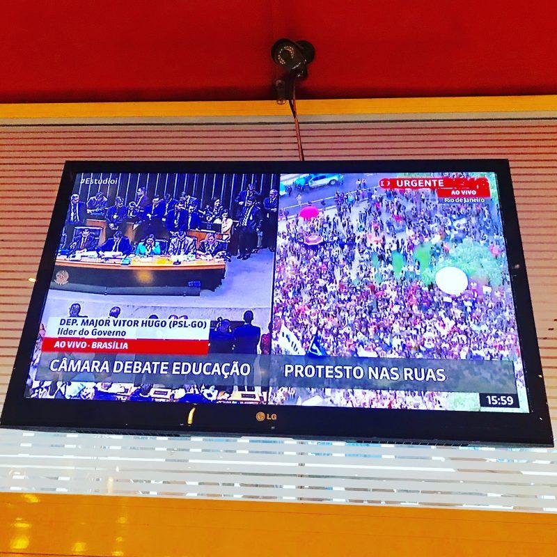O discurso do líder do PT na Câmara que a Globonews transmitiu ao vivo, na íntegra