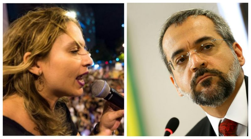 """Beatriz Cerqueira: """"Esse ministro é uma aberração, desrespeita alunos e servidores!"""""""