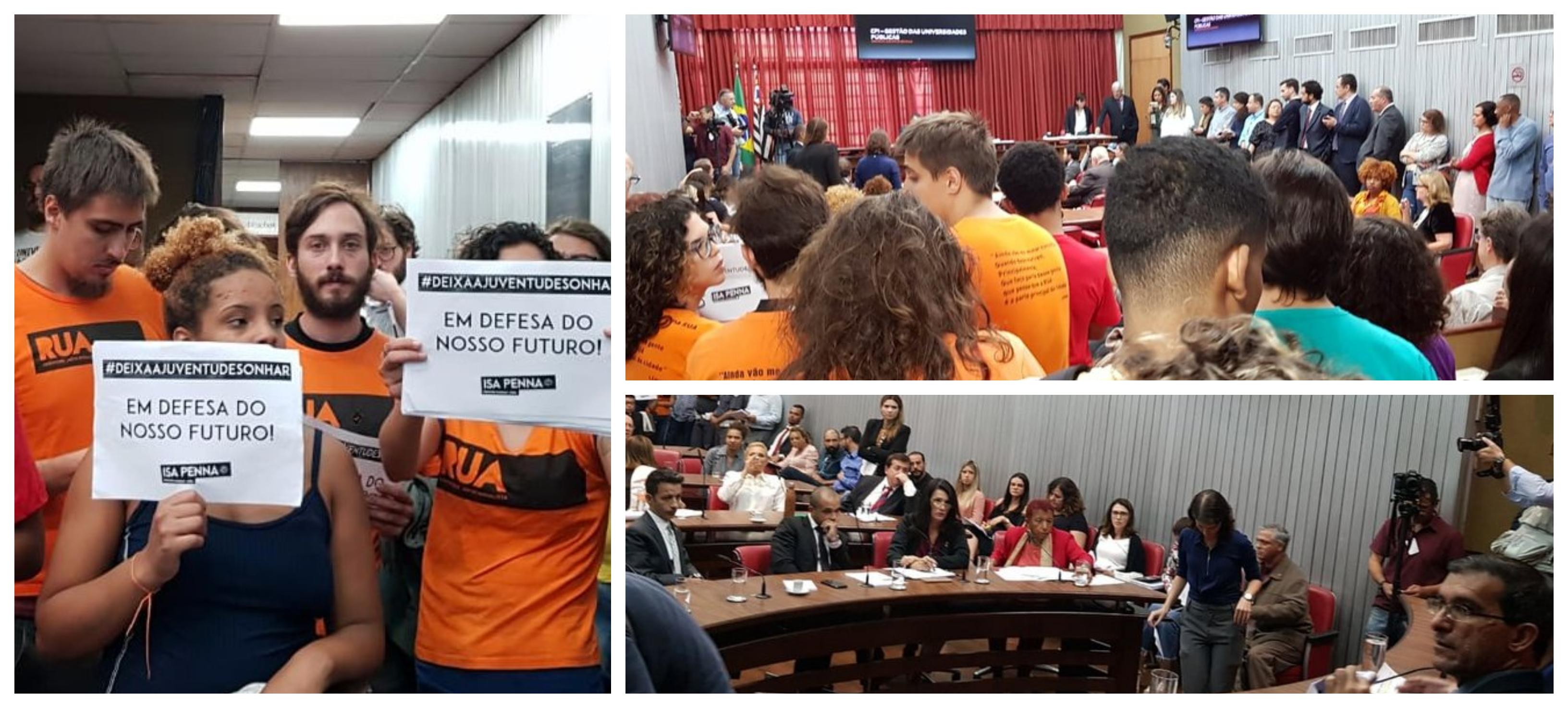 Lúcia Rodrigues: Direita e extrema-direita controlam CPI das Universidades