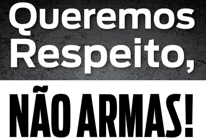 FENAJ diz não a armas: A responsabilidade pela segurança dos jornalistas é do Estado e empresas; ela não se transfere
