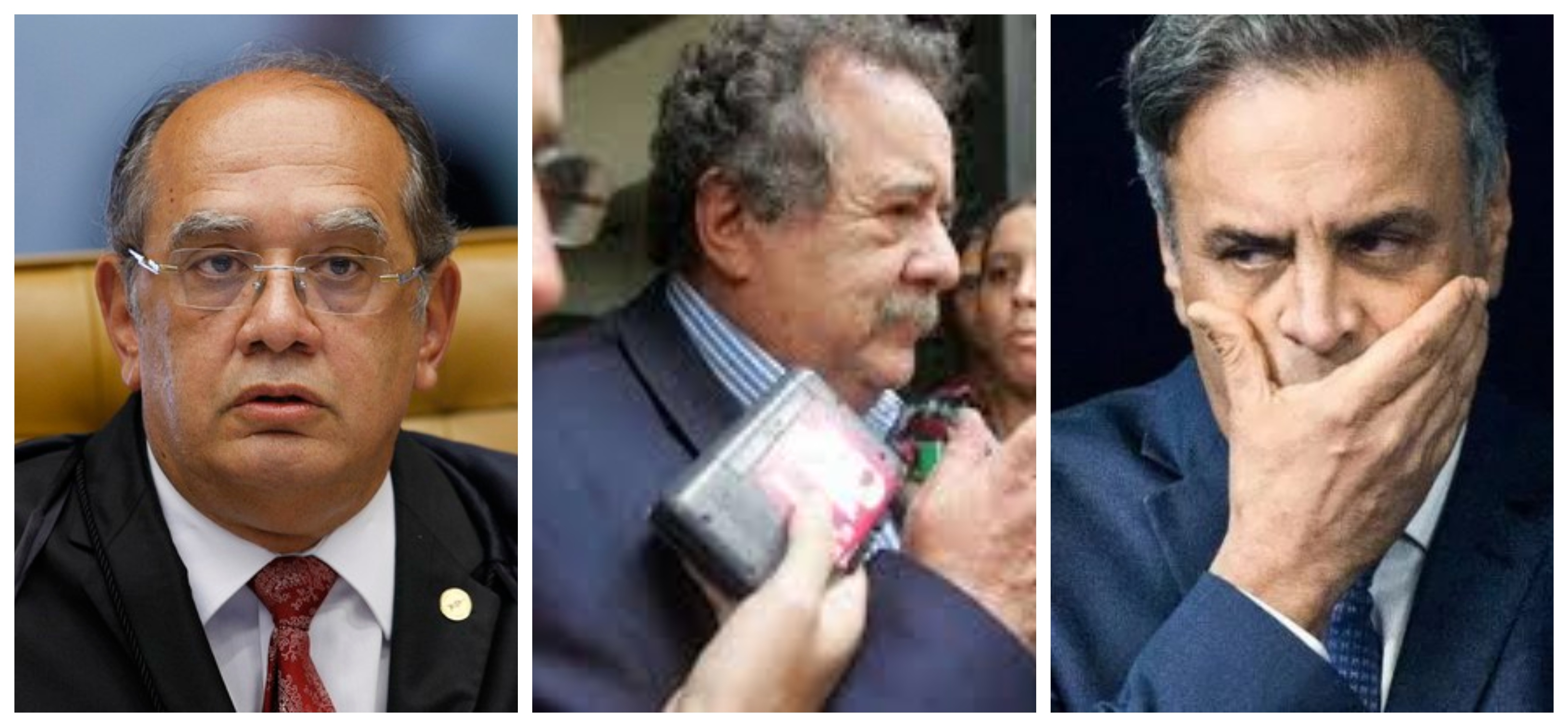 Carone: STF adia de novo julgamento de contas secretas de Aécio e Dimas em paraíso fiscal e torna inquérito sigiloso