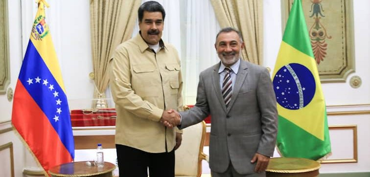 Telmário comemora: Maduro cumpre promessa e reabre fronteira da Venezuela com Brasil
