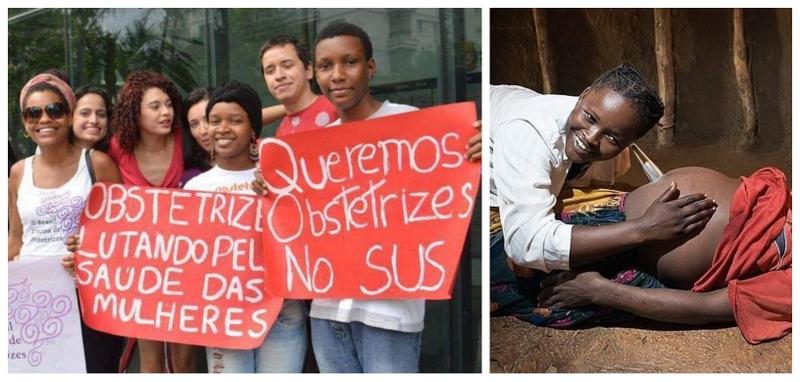 Parteiras e obstetrizes são essenciais para combatermos a epidemia de cesáreas no Brasil