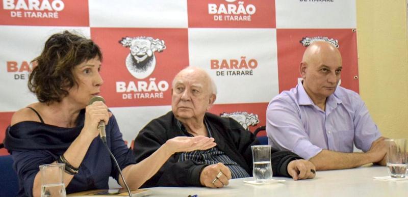 Cerco fascista à cultura: Veja o que Mamberti, Di Pietro e Caffé  disseram no debate do Barão