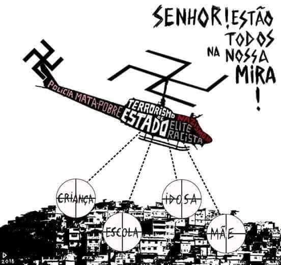 Benedita denuncia: Na prática, o governador Witzel já instituiu a pena de morte no Rio