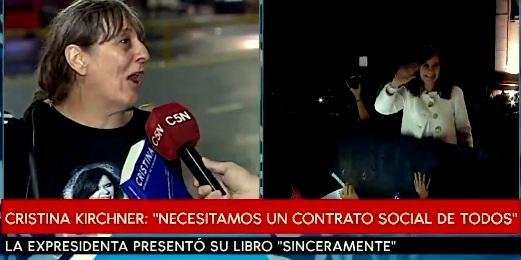 Em fala que comoveu argentinos, trabalhadora pede volta de Cristina Kirchner à presidência; veja o vídeo