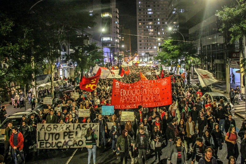 Pimenta: Brasil que diz não ao desastre Bolsonaro irá às ruas dia 14 pela democracia, contra os retrocessos