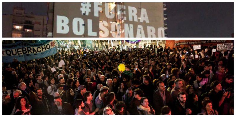 Altamiro Borges: Argentinos rejeitam Bolsonaro e sinalizam que o fascistoide virou pária internacional; fotos