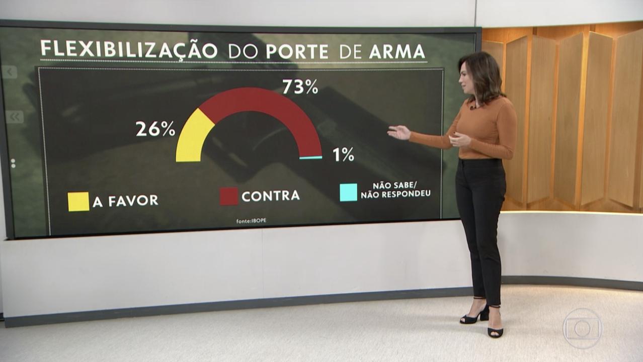 Bolsonaro agrada sua base, mas não aos brasileiros: 73% não querem mais gente armada nas ruas