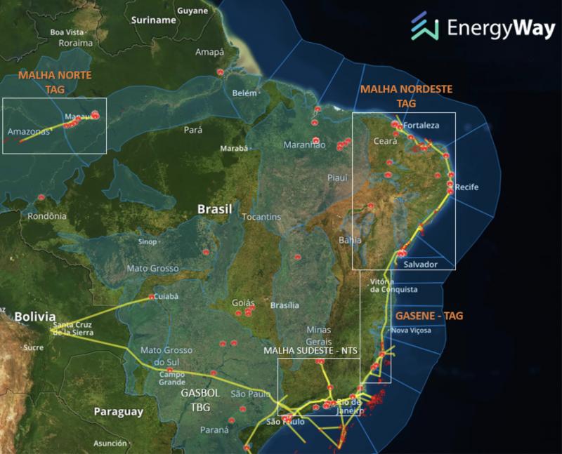 Enquanto você se preocupa com o aerococa: França, Canadá, Bélgica, China e Cingapura vão faturar alto alugando gasodutos para a Petrobrás