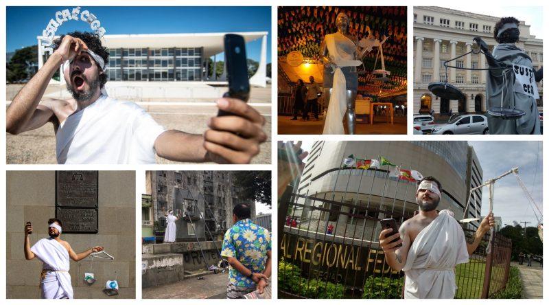Levante da Juventude denuncia cegueira da Justiça em Brasília, SP, Porto Alegre e Salvador