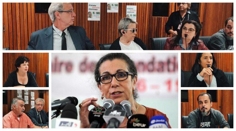 Carone: Em Minas, lideranças do PT, PSOL e CUT aderem à campanha pela liberdade de Louisa Hanoune