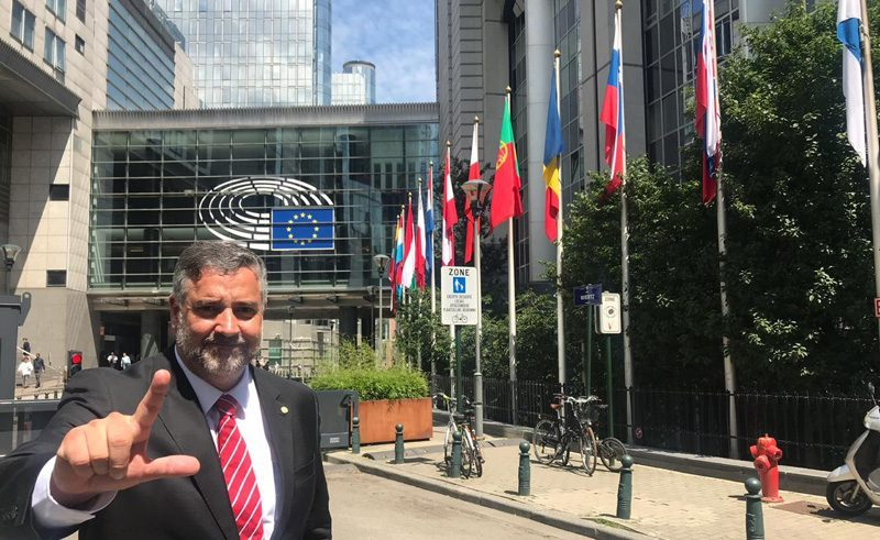 Pimenta denuncia ao Parlamento Europeu a participação secreta e ilegal dos EUA na Lava Jato
