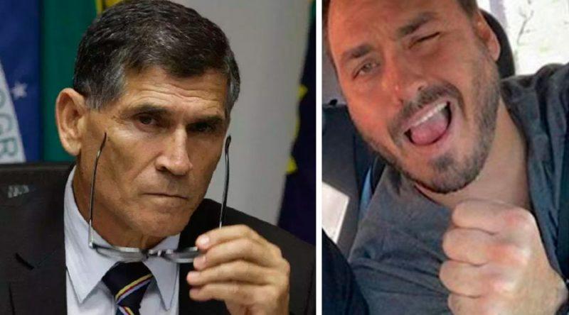 Suspeito de ser o Pavão, Carlos Bolsonaro usa Greenwald para unir base contra golpe de Mourão