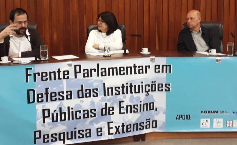 Presidente da Adusp: Articulação de frentes da Educação e Ciência contra ataques de Bolsonaro e Doria
