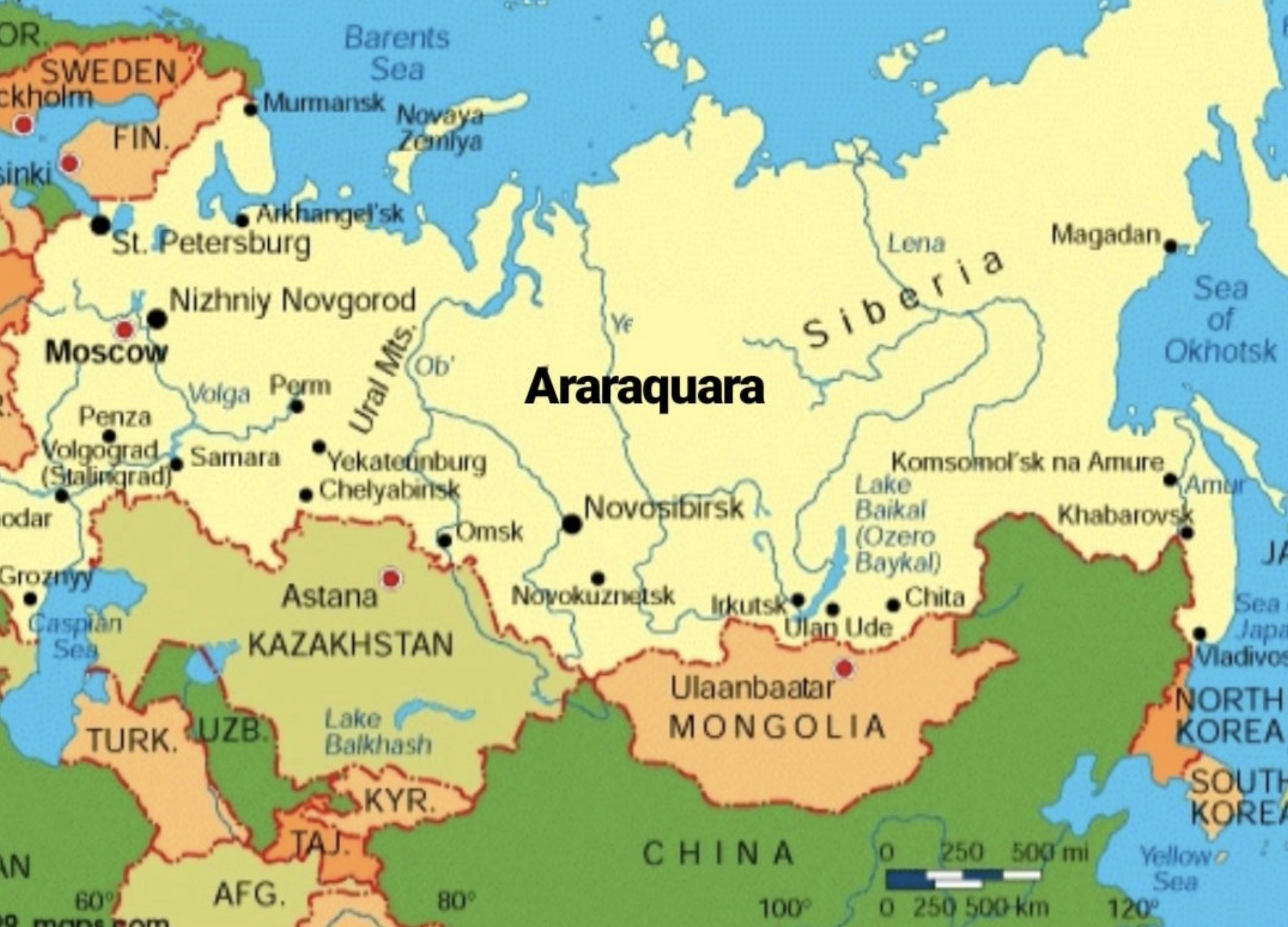"Terra da laranja, Araraquara bomba no twitter como sede de ""hacker russo"""