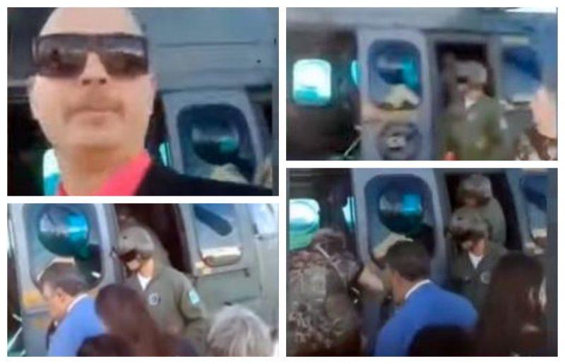 Pimenta: Família de Bolsonaro usa helicóptero da FAB para ir a festa de Eduardo; é a nova política?; vídeo