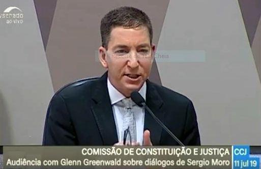 Ao vivo, Glenn Greenwald fala em audiência pública no Senado