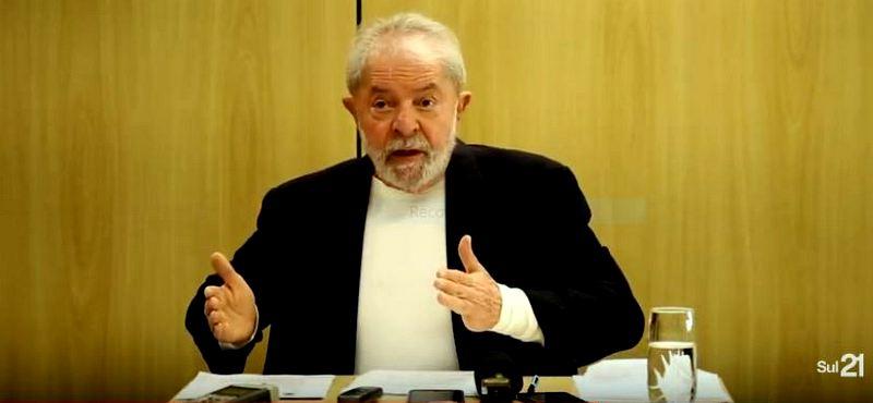 """Lula a Weissheimer, do Sul21: """"Moro está se transformando num boneco de barro; ele vai se desmilinguir""""; vídeo"""