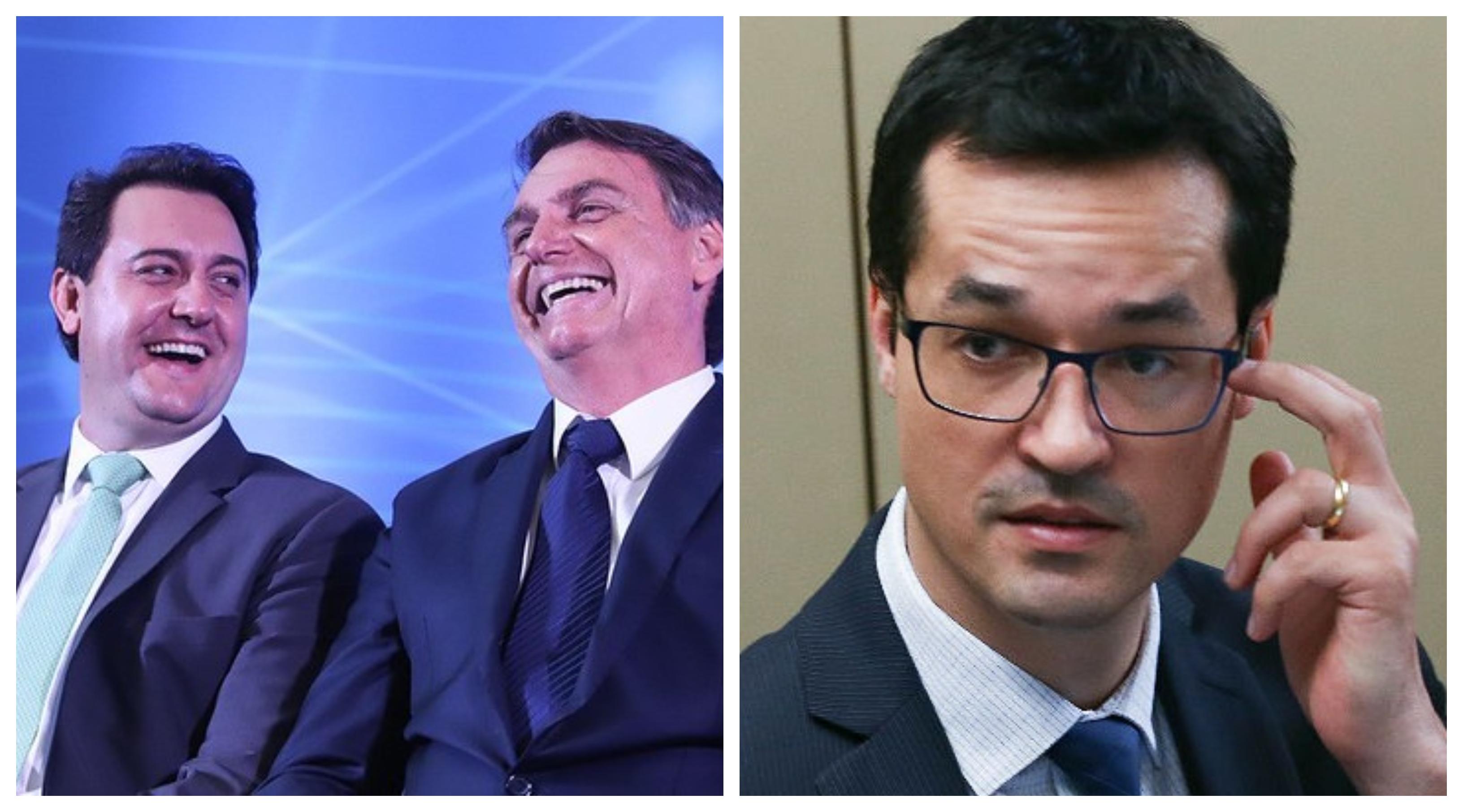 """Sobre Ratinho, Richa, Bolsonaro e Deltan, o fujão: """"Não seria o caso de conduzi-lo debaixo de vara?"""""""