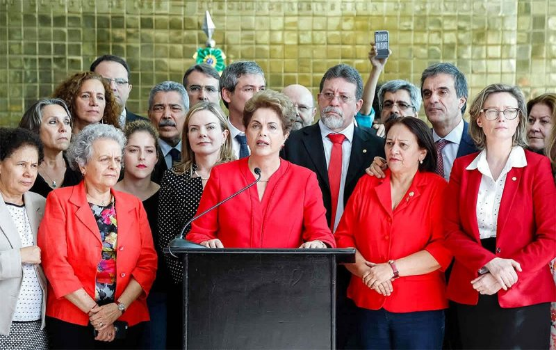 Dilma, sobre a denúncia do golpe no Oscar: A história segue sendo implacável com os golpistas