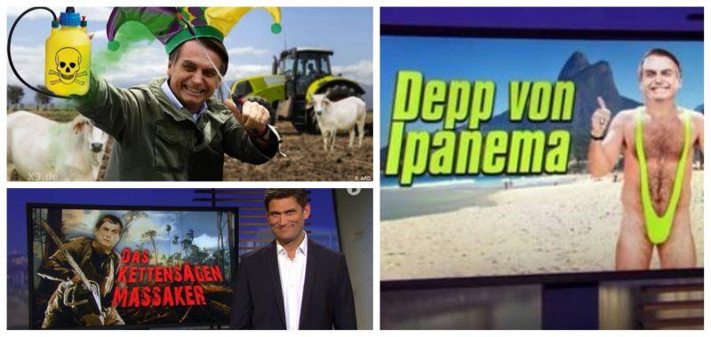 Em horário nobre, TV alemã ridiculariza Bolsonaro: 'Trump do samba' ou 'boçal de Ipanema'?; vídeos
