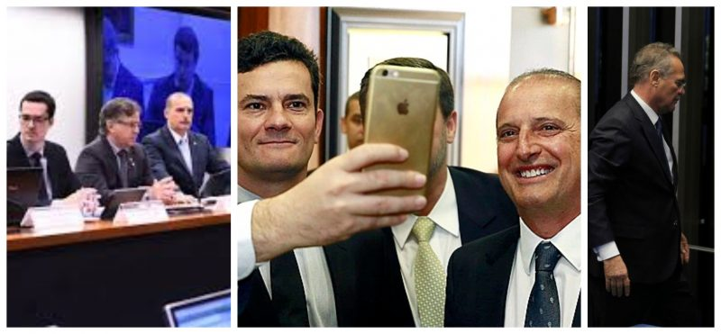 """Vazajato: Dallagnol fez vista grossa à corrupção de Onyx; Moro ficou feliz com derrota de Renan, """"ajudado"""" pelo grupo; vídeo"""
