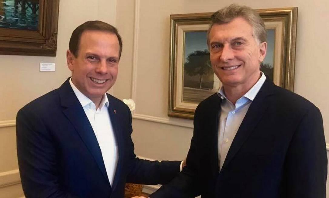 """""""Absolutamente inspirador"""", Macri pede moratória da dívida externa da Argentina"""