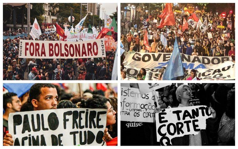 Balanço: Tsunami contra cortes na educação levou milhares às ruas; vídeos e fotos