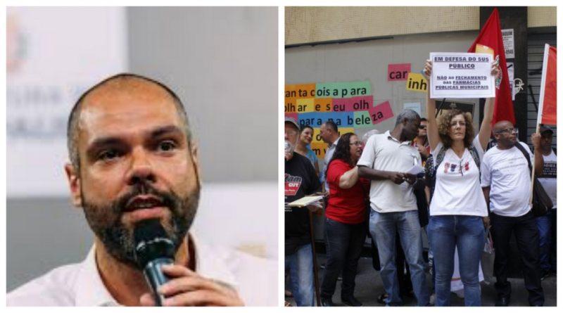 Sindicato denuncia: Covas quer acabar com as farmácias na rede pública municipal