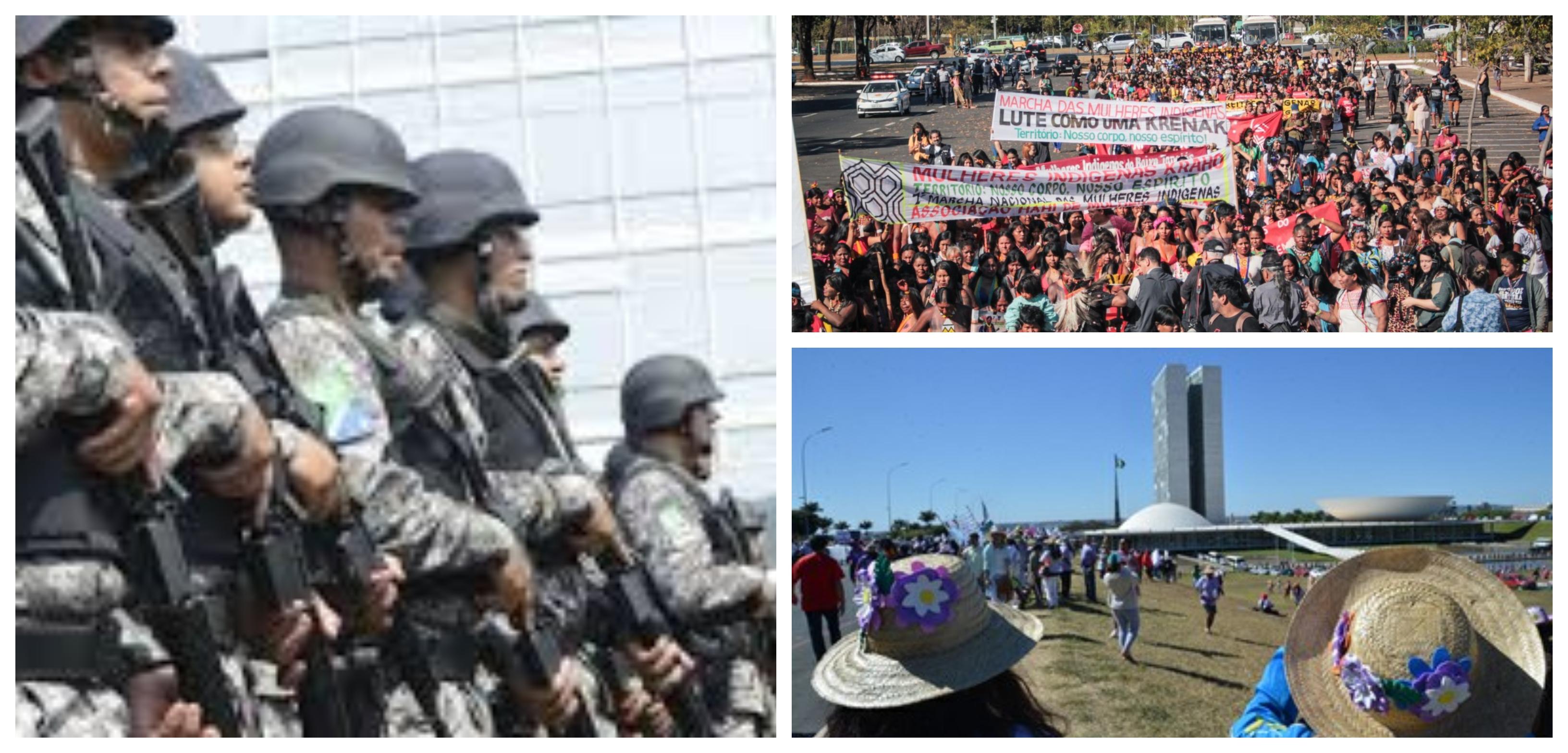 Portaria do Moro que autoriza Força Nacional em manifestações é ilegal e inconstitucional