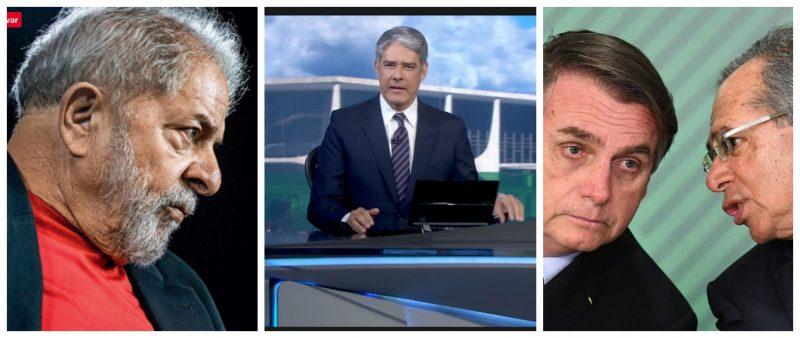 Eliara Santana: JN naturaliza absurdos do governo Bolsonaro e persegue Lula, revelando que estratégia da Globo é desinformar