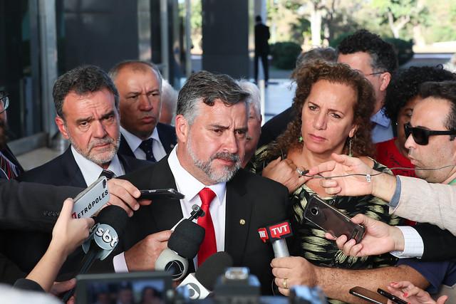 Dia histórico: Partidos de esquerda, centro e direita unem-se em defesa da democracia e de Lula e barram transferência