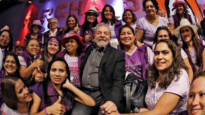 """Lula às Margaridas: """"A grosseria não vencerá a solidariedade"""""""